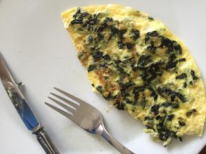 Einfaches Omelett